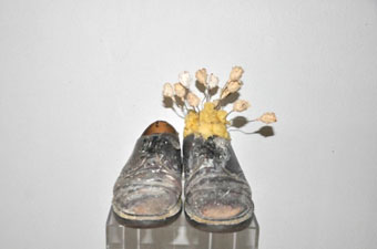 Lawrence Carroll, Untitled (Shoes), 1997/98